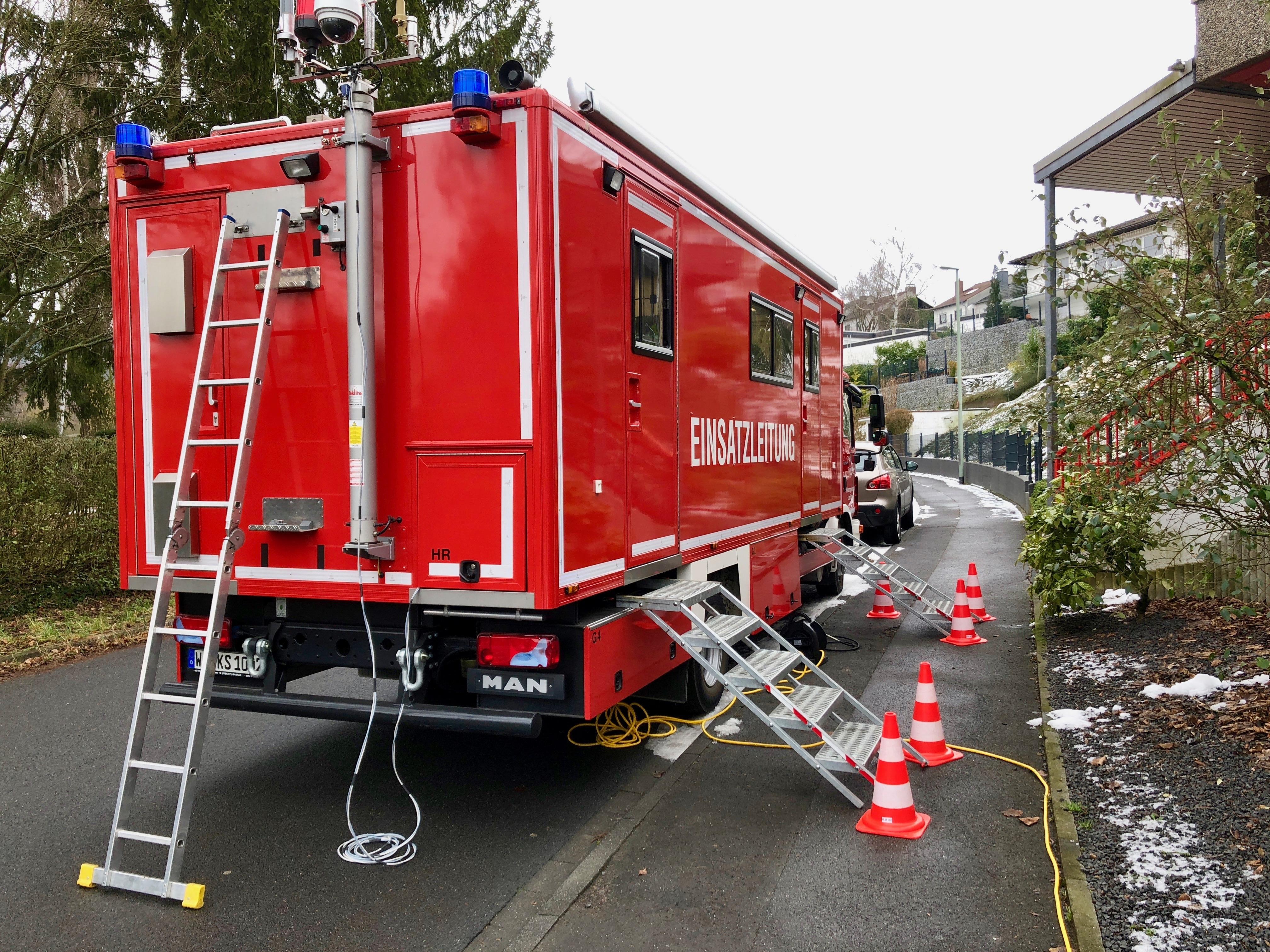 IuK-Gruppe übt in Breckenheim den Ernstfall