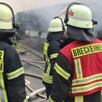 Einsatzleitung Feuerwehr Breckenheim